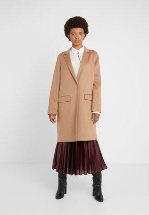DOUBLE FACE COAT - Zimní kabát - camel