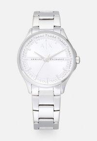 Armani Exchange - LADY HAMPTON - Hodinky - silver-coloured - 0
