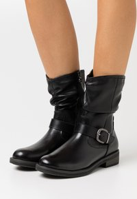 Tamaris - BOOTS - Støvler - black - 0