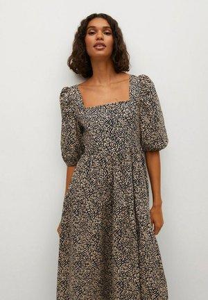 CRETA-L - Day dress - bruin