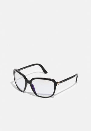 BLUE LIGHT - Brýle s filtrem modrého světla - black