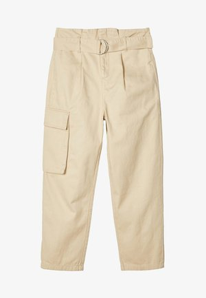 TAILLEN - Cargo trousers - white pepper