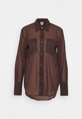 SHIRT - Paitapusero - brown
