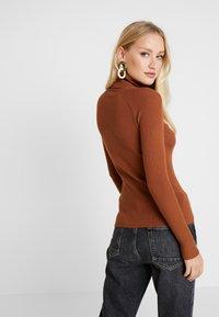 Anna Field - Stickad tröja - caramel cafe - 2