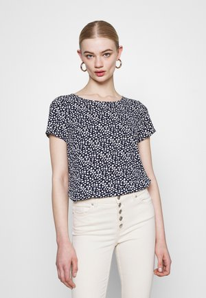VMSAGA - Print T-shirt - navy blazer