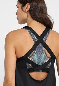Nike Performance - DRY TANK ELASTIKA - T-shirt sportiva - black - 4