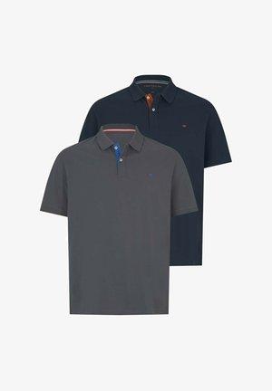 2ER PACK - Polo shirt - dark blue