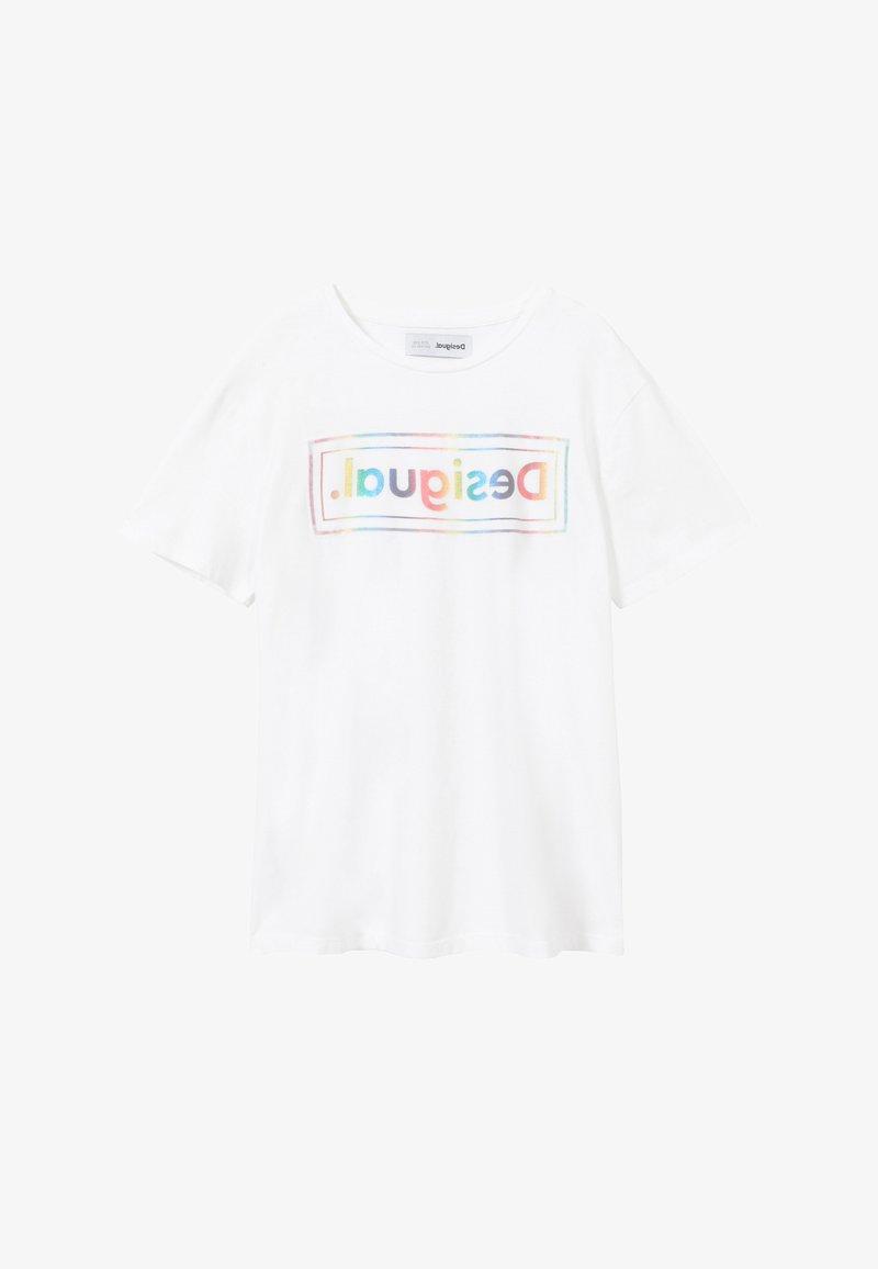 Desigual - MILAN - Print T-shirt - white
