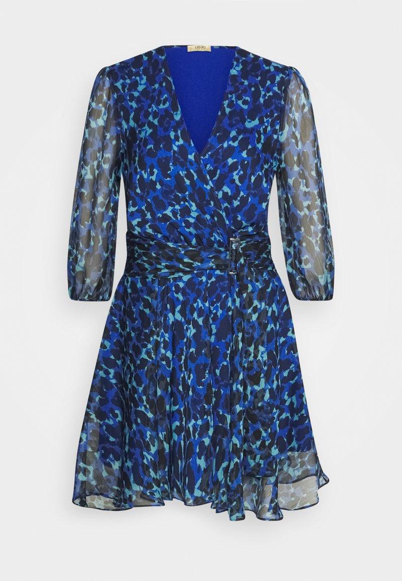 LIU JO - ABITO - Vestido informal - true blue/green