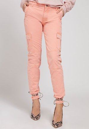 Cargo trousers - rose