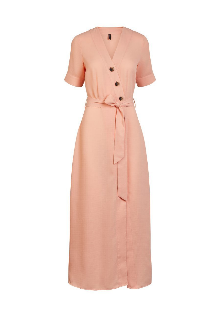 Cheap And Nice Wholesale YAS YASMARION  - Maxi dress - coral pink | women's clothing 2020 A0T3S