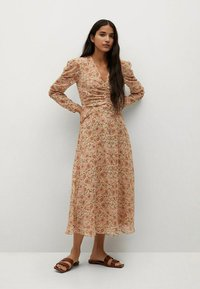 Mango - Day dress - beige - 1