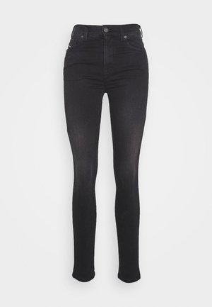 D-ROISIN-HIGH - Jeans Skinny Fit - washed black