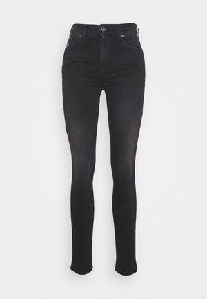 D-ROISIN-HIGH - Jeans Skinny Fit - washed black