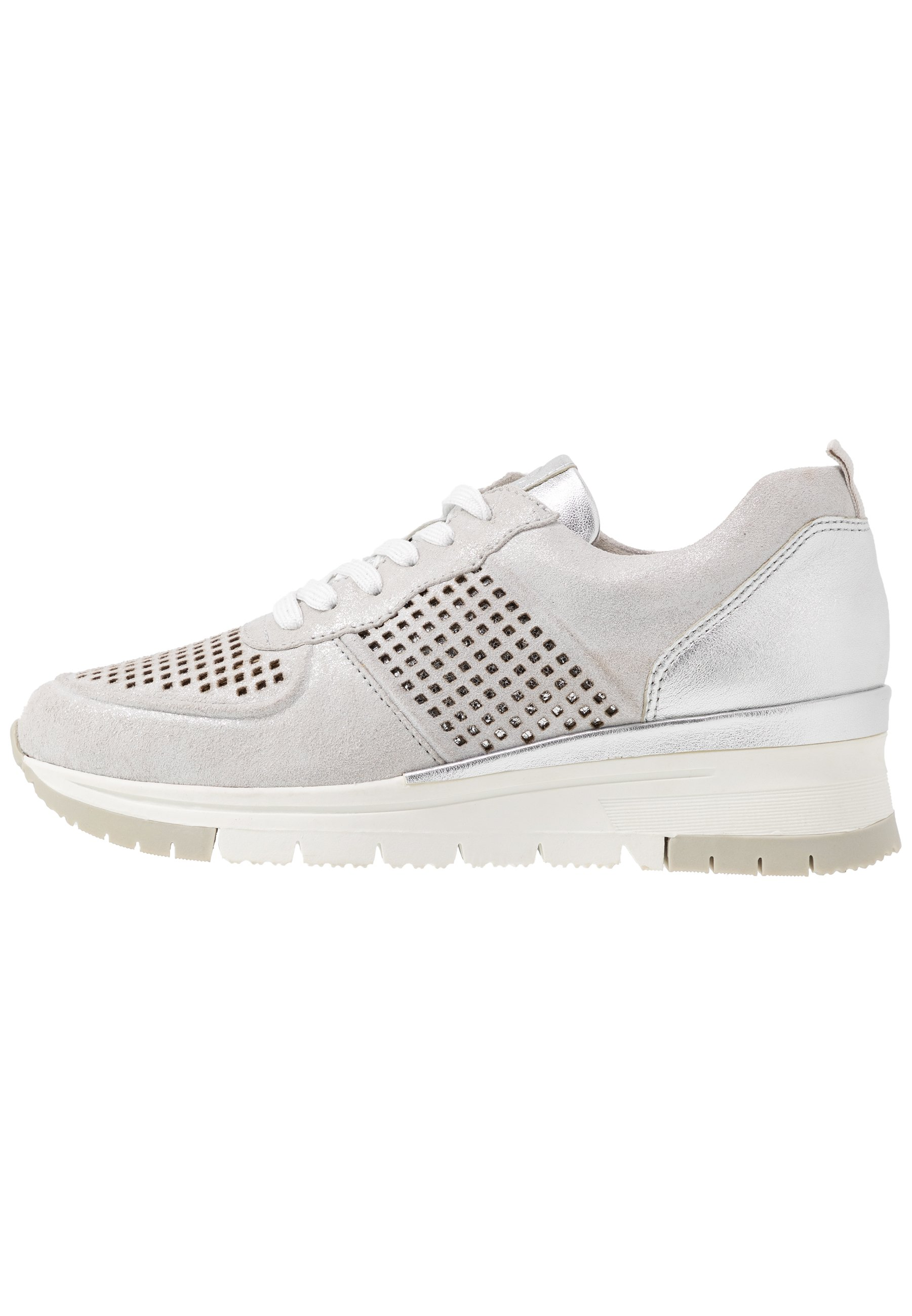 Tamaris Pure Relax LACE UP Joggesko silverpunch
