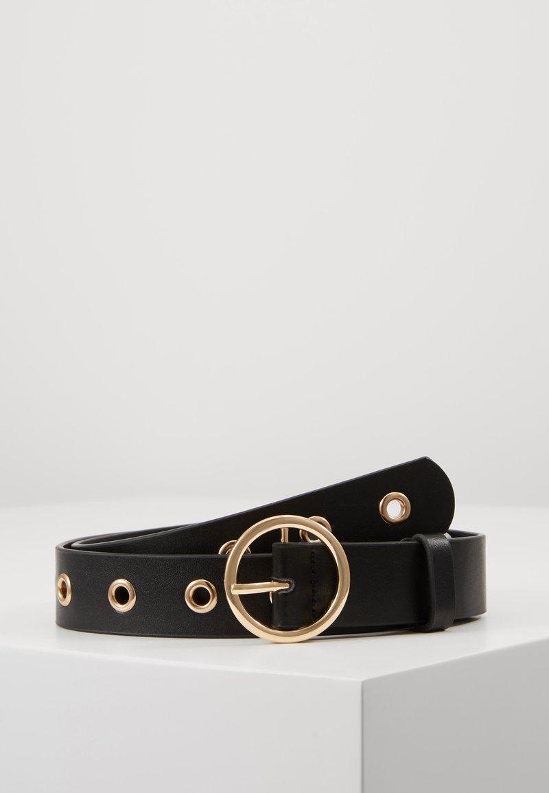 ONLY - ONLMIA EYELET BELT - Belt - black