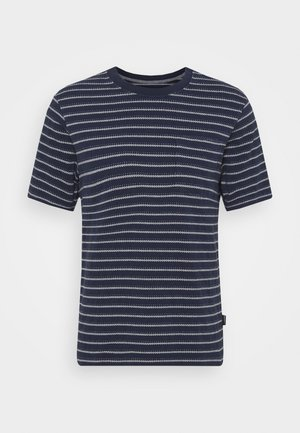 POCKET TEE - Print T-shirt - new navy