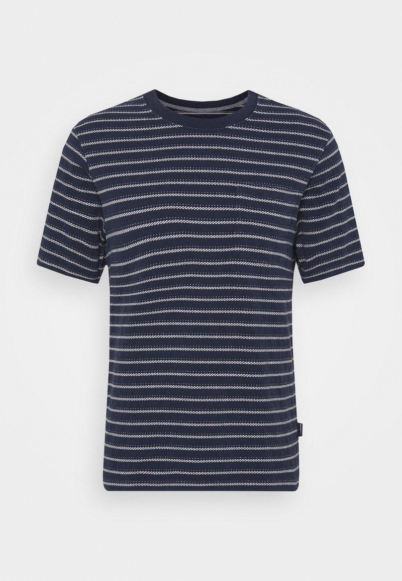 Patagonia - POCKET TEE - T-shirt med print - new navy
