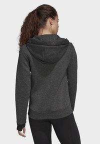 adidas Performance - MUST HAVES VERSATILITY HOODIE - Collegetakki - black - 1