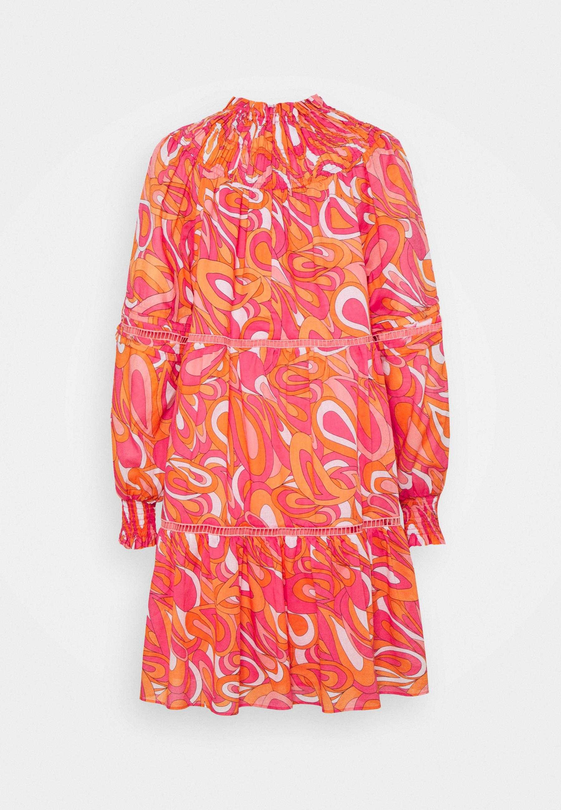 Women GROOVY SWIRL MINI DRESS - Day dress