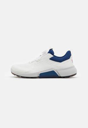 BIOM HYBRID 4 BOA - Golf shoes - white