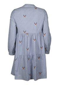Zwillingsherz - MARIA - Day dress - blau/weiß - 1