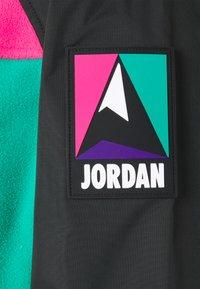 Jordan - MOUNTAINSIDE JACKET - Summer jacket - black/neptune green/watermelon - 2