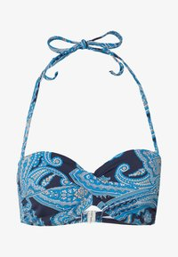 LASCANA - WIRE BAND BOHO - Bikini top - navy - 4