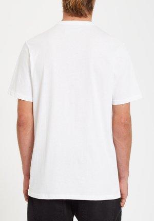 ICONIC STONE TEE - Basic T-shirt - white