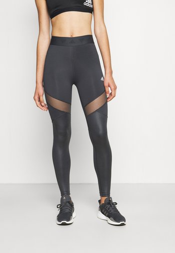 TRAINING WORKOUT LEGGINGS - Tights - carbon