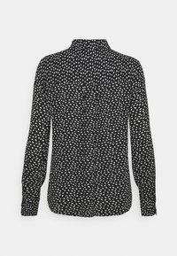 Marks & Spencer London - ANIMAL SHIRT - Button-down blouse - black - 1