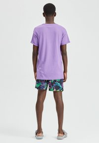 PULL&BEAR - T-shirt basic - purple - 2