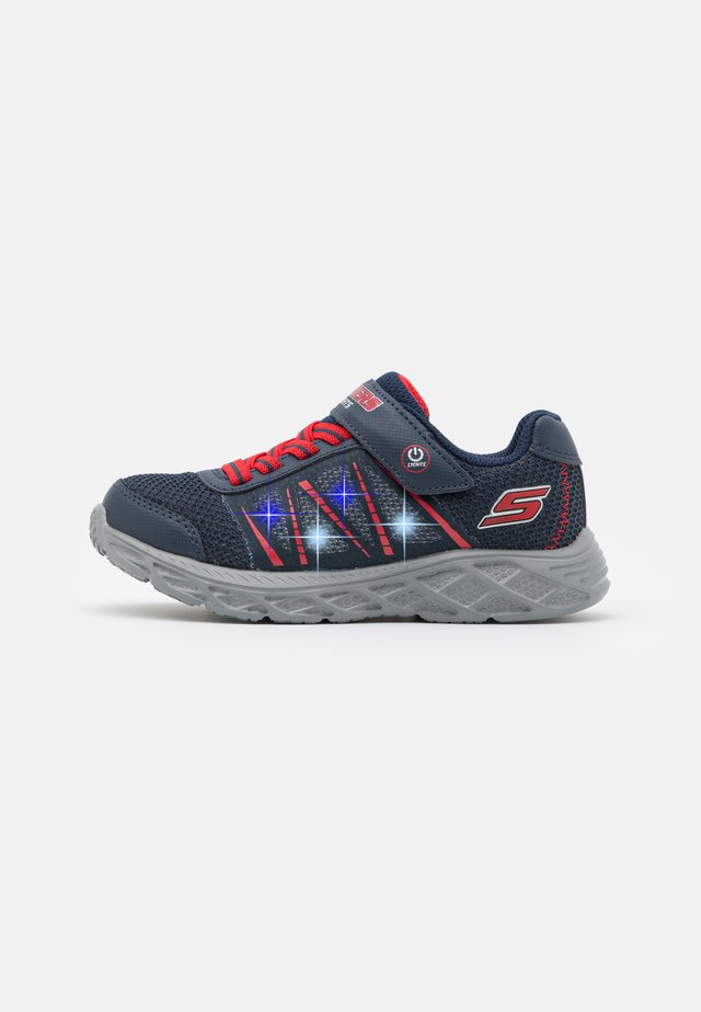 DYNAMIC-FLASH - Sneakers basse - navy/red