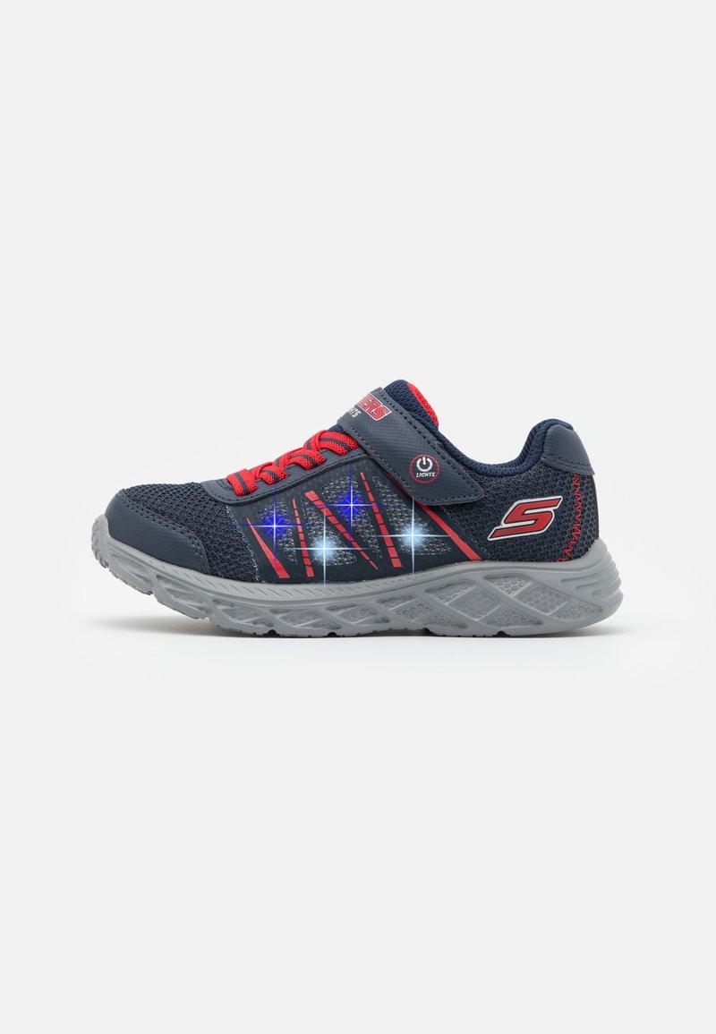Skechers - DYNAMIC FLASH - Sneakers basse - navy/red