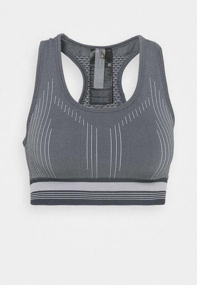 ONPMERETA CIR BRA - Reggiseno sportivo con sostegno medio - blue graphite/sleet