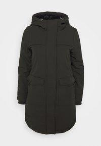 ONLY Petite - ONLMAASTRICHT JACKET  - Krótki płaszcz - black - 4