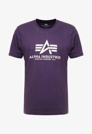 BASIC - Print T-shirt - nightshade