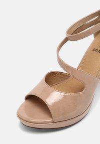 s.Oliver - Platform sandals - nude - 7