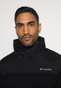 Columbia - PARK RUN JACKET - Giacca da snowboard - black - 4