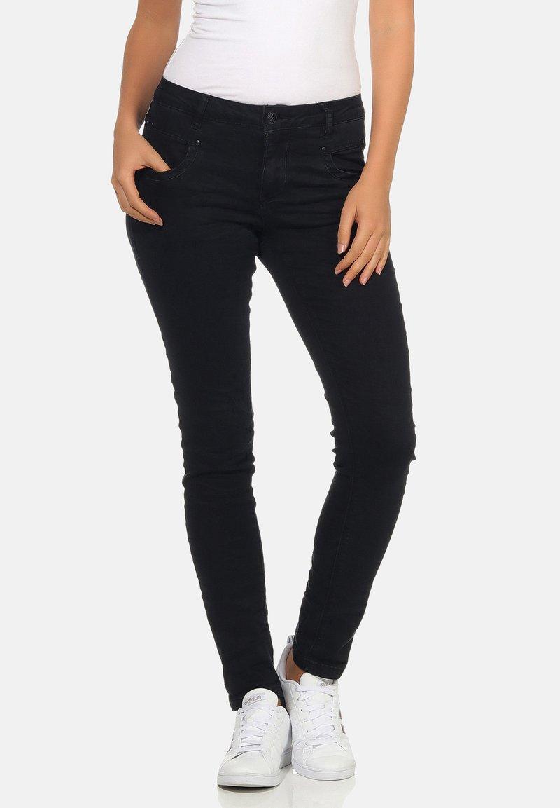 Buena Vista - Slim fit jeans - black