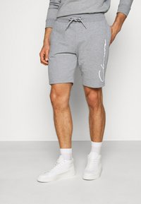 CLOSURE London - DOUBLE SCRIPT CREWNECK SHORT SET - Sweatshirt - grey - 6