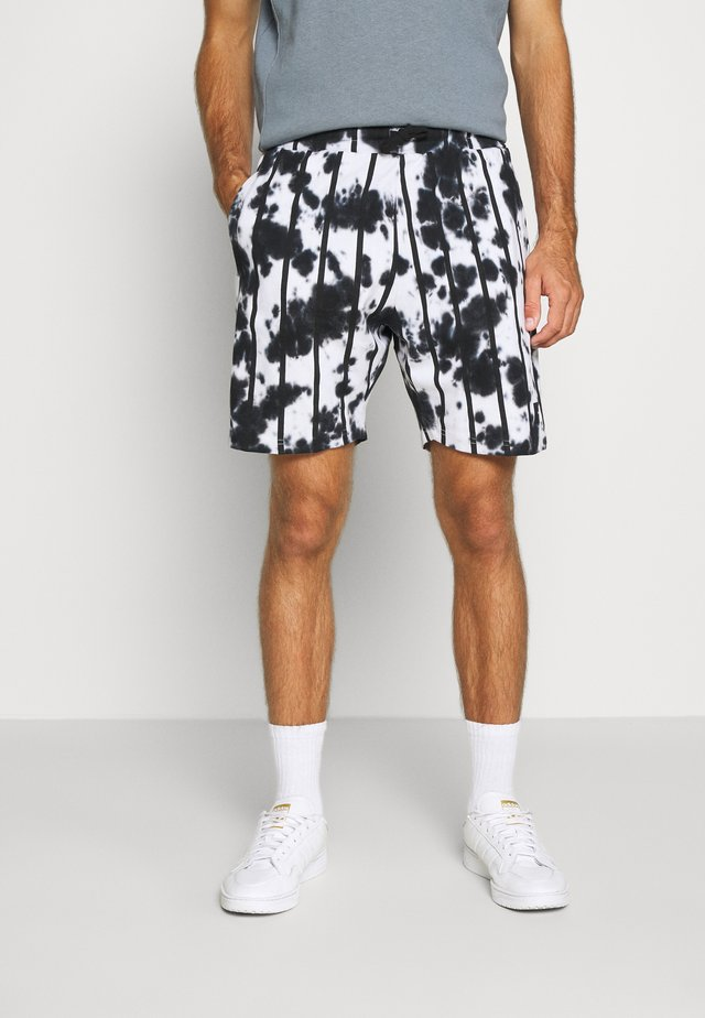 ALBA - Teplákové kalhoty - white