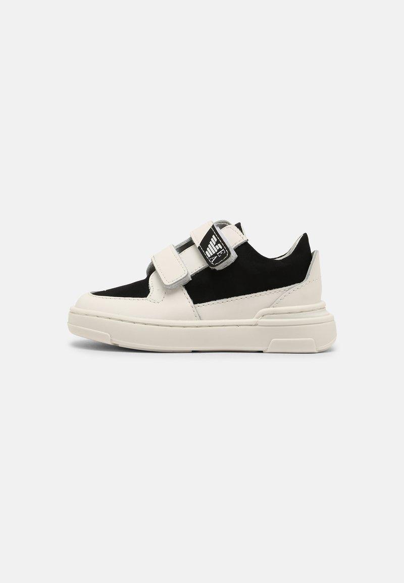 Emporio Armani - UNISEX - Baskets basses - white/black