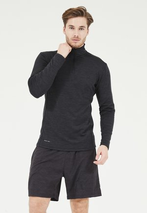BERNEO WAFFLE - Sweatshirt - 1001 black