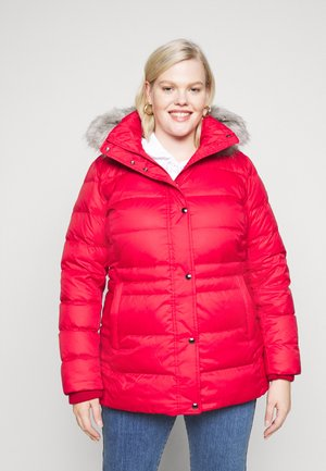 TYRA - Down coat - primary red