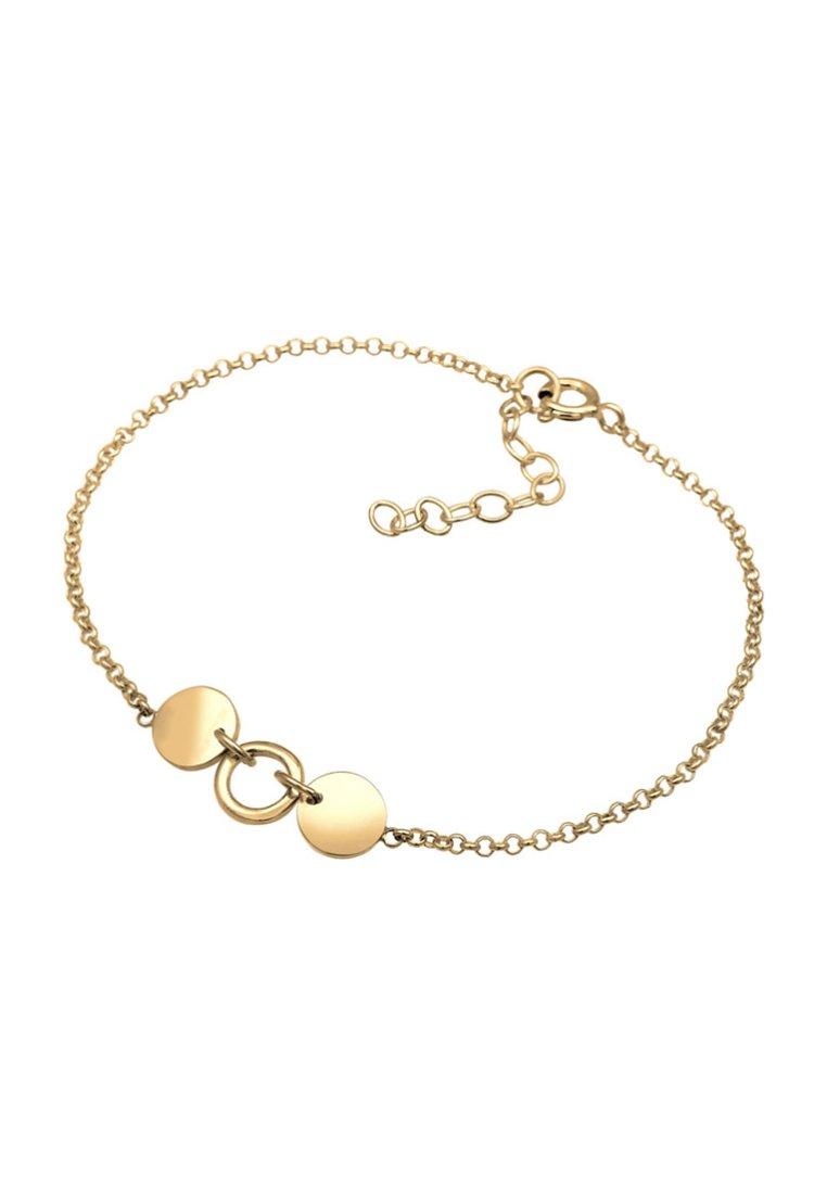 Femme ERBSKETTE KREIS PLÄTTCHEN - Bracelet