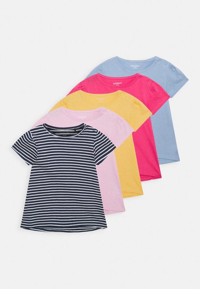 5 PACK - T-shirt print - multi coloured