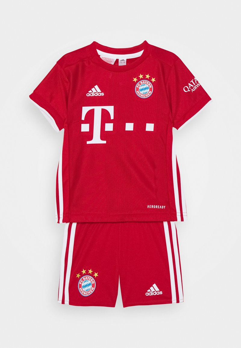 adidas Performance - FC BAYERN MUENCHEN SPORTS FOOTBALL MINIKIT SET - Club wear - fcb true red