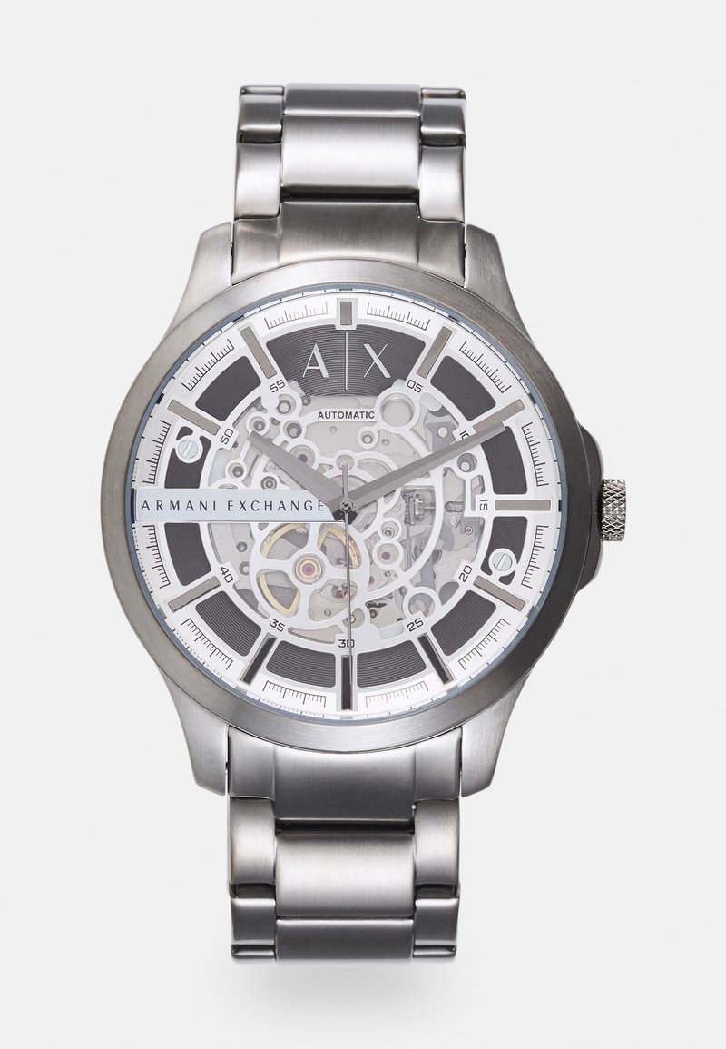 Armani Exchange - HAMPTON - Hodinky - gunmetal