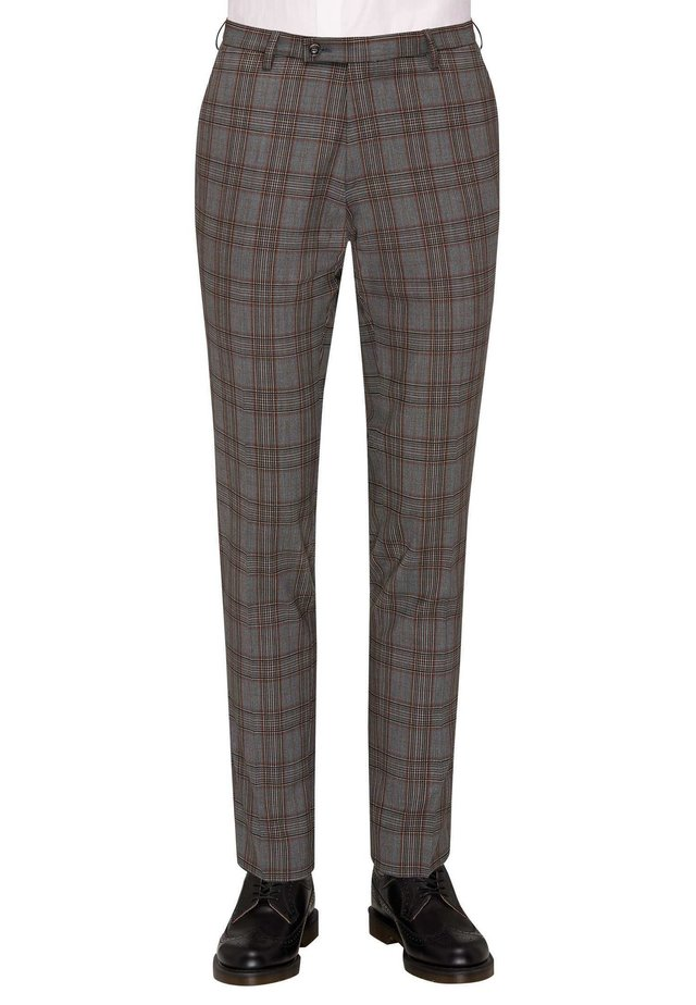 CG COLE - Suit trousers - grau